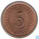 Maurice 5 cents 1969