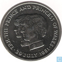 "Maurice 10 rupees 1981 ""Royal Wedding of Prince Charles and Lady Diana"""