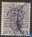 Postage Stamps - Sweden [SWE] - Blue 35