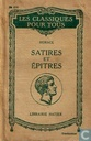 Satires et Epitres