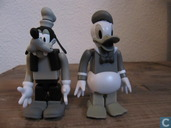 Donald Duck en Goofy
