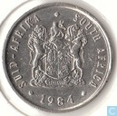 South Africa 5 cents 1984
