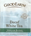 Decaf White Tea  Vanilla Blend