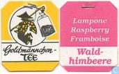 Tea bags and Tea labels - Goldmännchen Tee -  8 Wald-himbeere