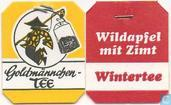 Tea bags and Tea labels - Goldmännchen Tee - 21 Wintertee