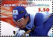 Postage Stamps - Finland - World Cup Nordic skiing
