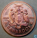 "Barbados 1 cent 1976 ""Royal Mint 10th Anniversary of Independence"""