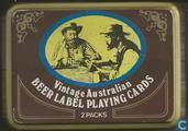 Vintage Australian Beer Label Playing cards