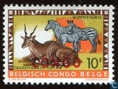 "Animals series marked ""Congo\"""