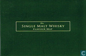 """""""The Single Malt Whisky Flavour Map"""" with Letter"""