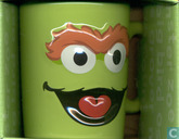 """Scram"" Oscar the Grouch sculpted mug"