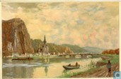 From the River Meuse, Dinant, Belgium