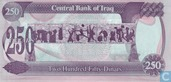 Banknotes - Central Bank of Iraq - Iraq 250 Dinars 1995 (P85a2)