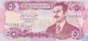 Billets de banque - Central Bank of Iraq - Iraq 5 Dinars