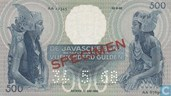 Specimen Javaneese Dancer 500 Gulden