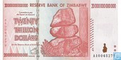 Zimbabwe 20 Trillion Dollars