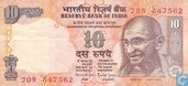 India 10 Rupees 1996 (S)