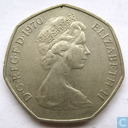 United Kingdom 50 new pence 1970
