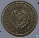 Chypre 20 cents 1985