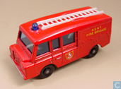 Voitures miniatures - Matchbox - Land Rover Fire Truck