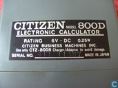 Outils de calcul - Citizen - Citizen 800 D