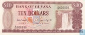 Guyana 10 Dollars ND (1989)