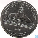 "Guernsey 2 Pounds 1989 ""Royal Visit"""
