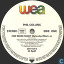 Schallplatten und CD's - Collins, Phil - One more night (extended mix)