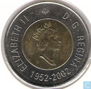 "Canada 2 Dollar 2002 ""50th Anniversary of the Accession of Queen Elizabeth II"""