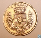 Congo Free State 1 franc 1894