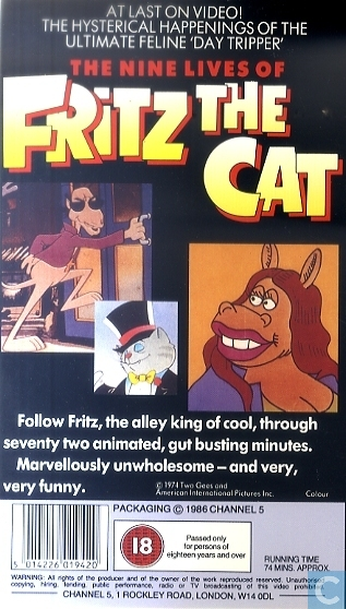 Watch Online Watch The Nine Lives Of Fritz The Cat Full Movie Online Film
