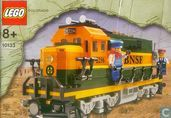 Lego 10133 Burlington Northern Santa Fe (BNSF) GP-38 Locomotive