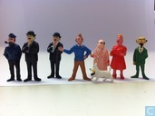 Set Tintin dolls