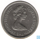 "Gibraltar 25 pence 1977 ""25th Anniversary of the Coronation of Queen Elizabeth II"""