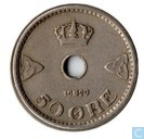Norway 50 øre 1929