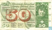 Switzerland 50 francs 1970