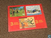 3 kuifje puzzles / 3 Tintin puzzels