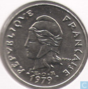 French-Polynesia 20 francs 1979