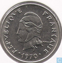 French-Polynesia 20 francs 1970