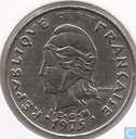 French-Polynesia 20 francs 1975