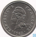 French-Polynesia 20 francs 1967