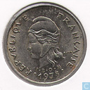 French Polynesia 10 francs 1975