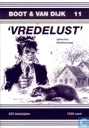 Comic Books - Boot & Van Dijk - 'Vredelust'