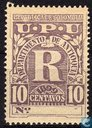 Registered stamp