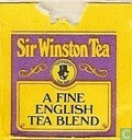 Tea bags and Tea labels - Sir Winston Tea - A Fine English Tea Blend