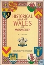 Historical map of Wales and Monmouth