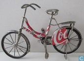 Coca Cola old-fashioned bicycles