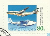 50 années d'Air New Zealand