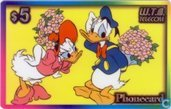 Donald Duck and Daisy Duck