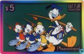 Donald Duck and his nephews